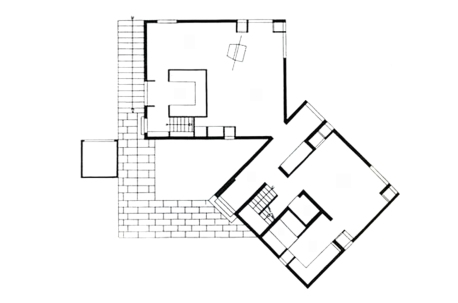PLANTA CASA FISHER  - LOUIS KAHN