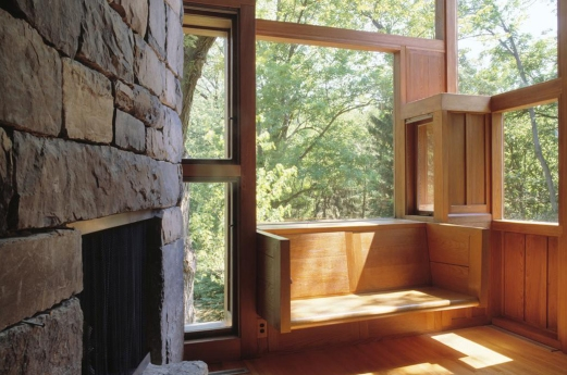 VENTANA - CASA FISHER - LOUIS KAHN