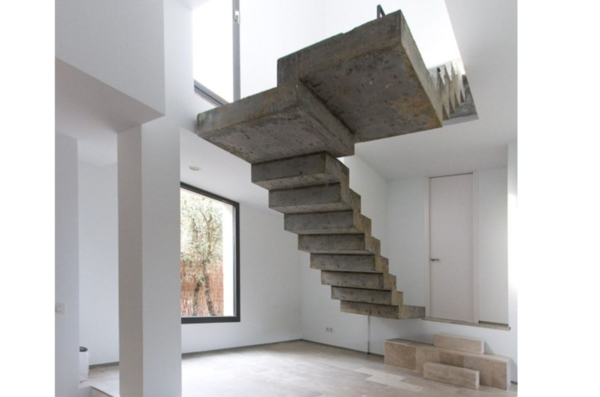 Detalle Escalera Caj N De Sastre De Arquitecto