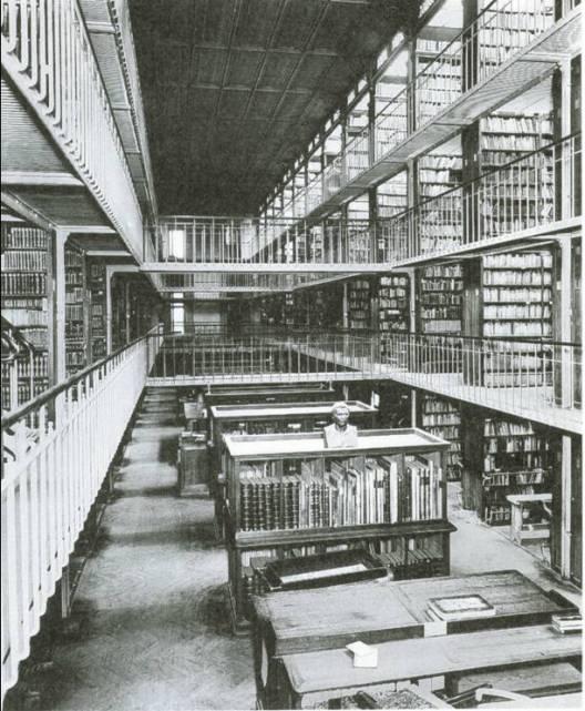 HENRI LABROUSTE - Bibliothèque nationale 04