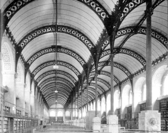 HENRI LABROUSTE - Bibliothèque Sainte-Geneviève 04