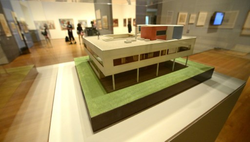 US-ART-ARCHITECTURE-MUSEUM-MOMA-LE CORBUSIER