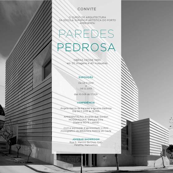 CONFERENCIA PAREDES PEDROSA