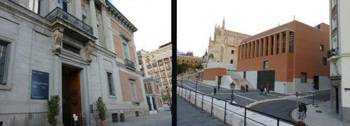Puerta de Murillo y ampliacion Prado