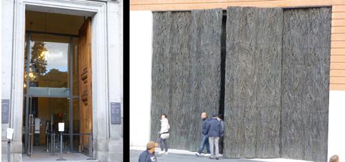 Puerta de Murillo y Cristina Iglesias