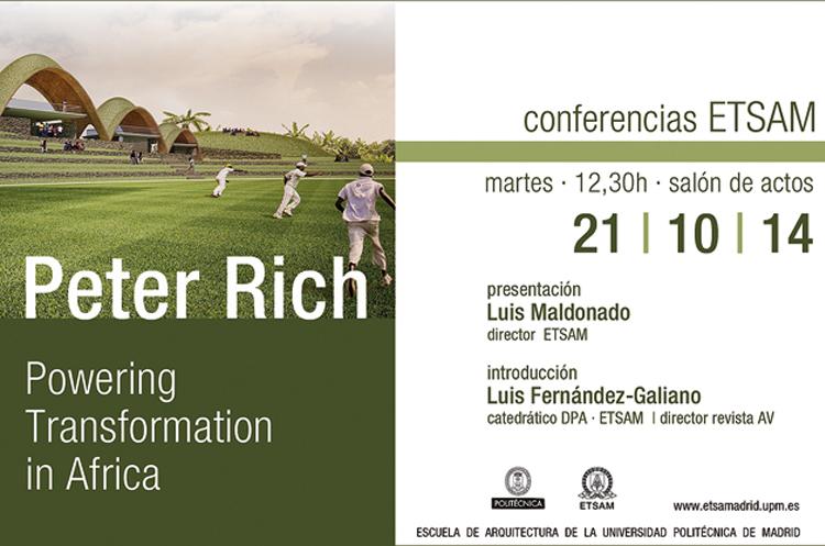 CONFERENCIA PETER RICH