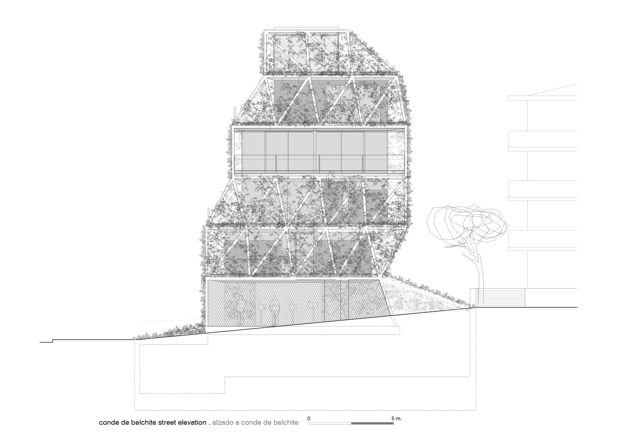 K_secondary street elevation