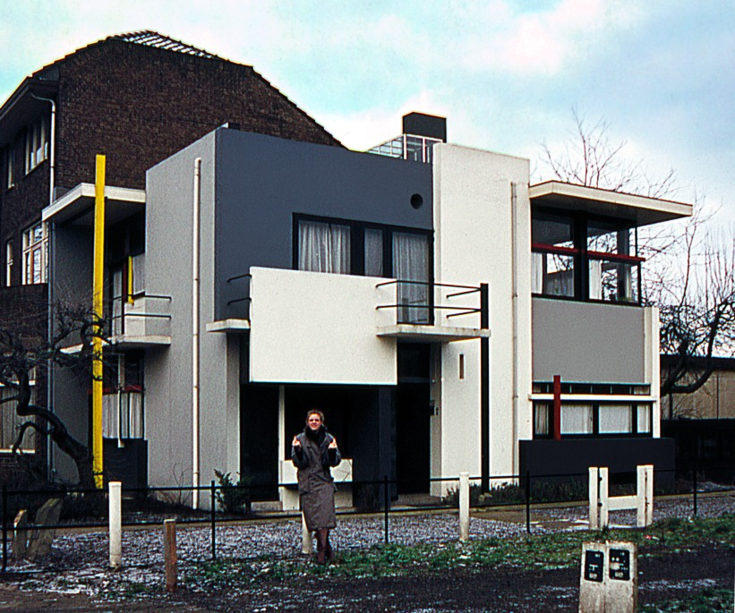 Casa Schröder visita 1981